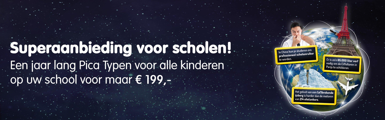 Pica typen scholen 199 euro